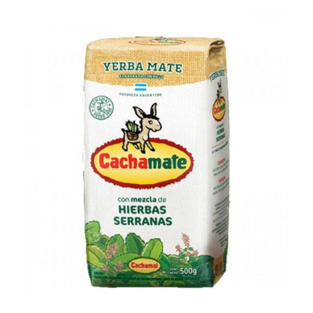 Cachamate Blanca Yerba Mate de Hierbas 500 gramos Argentina