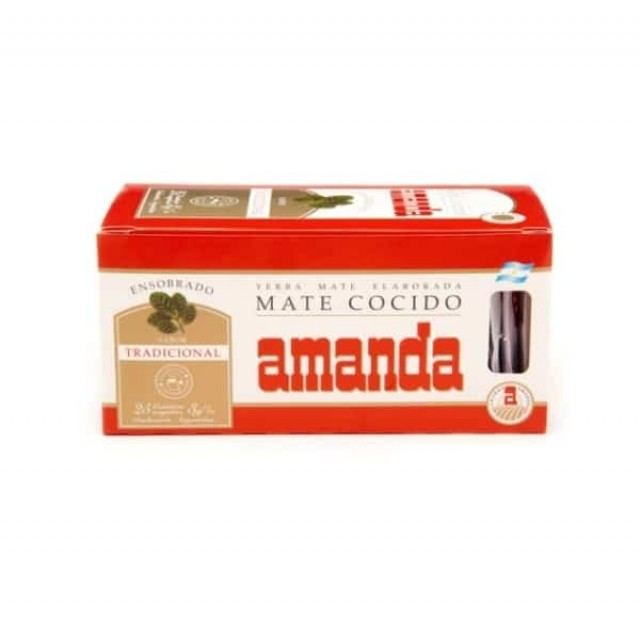 Yerba Mate Cocido Soluble Amanda
