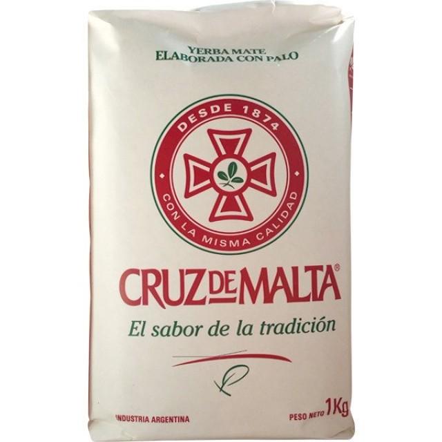Yerba Mate Cruz de Malta Argentina Kilo