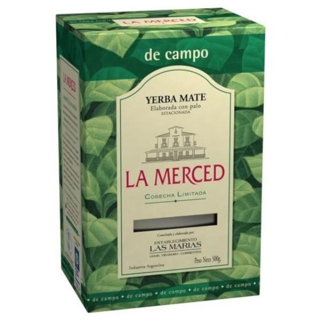 Yerba Mate La Merced Campo
