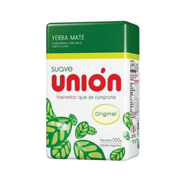 Yerba Mate Union Suave 500gr