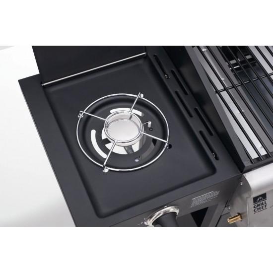 Barbacoa de Gas 3 Fuegos Grill Chef