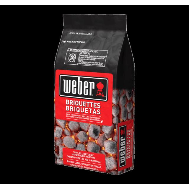 Briquetas de Carbón Weber Premium