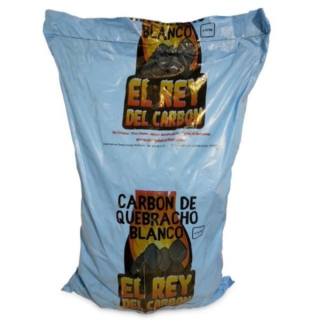 Carbón Vegetal Quebracho Blanco Origen Paraguay Estilo Argentino 15 kilos  - SOLO PARA RECOGIDA EN TIENDA - NO HACEMOS DELIVERY NI ENVÍOS DE ESTE ARTÍCULO