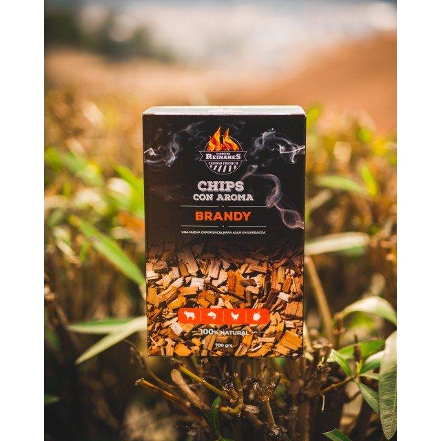Chips aromáticos Sabor Brandy Reinares Bolsa x 700 grs.