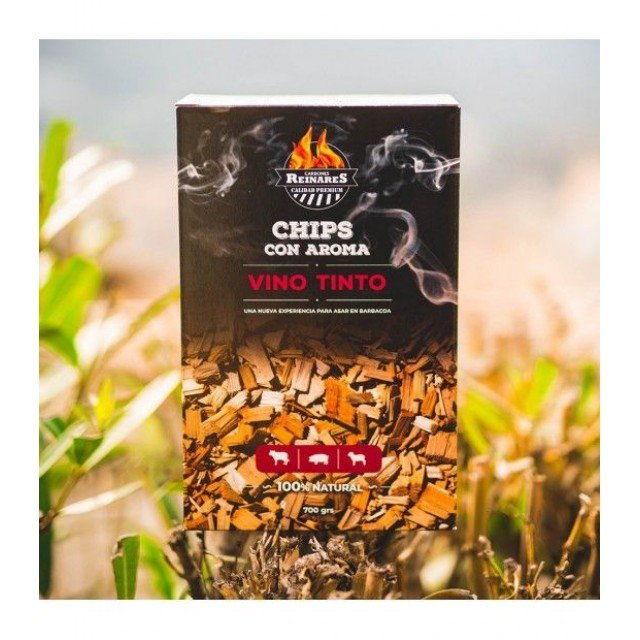 Chips aromáticos sabor Vino Tinto Reinares Bolsa x 700 grs.
