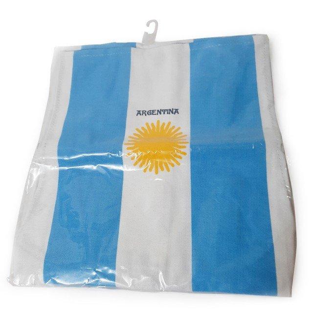Delantal Barbacoa Argentino Motivo Bandera Argentina
