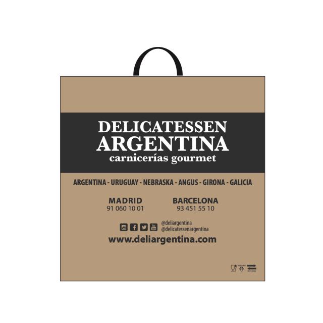 Bolsa Mediana Reutilizable Reciclable Galga 350 Delicatessen Argentina