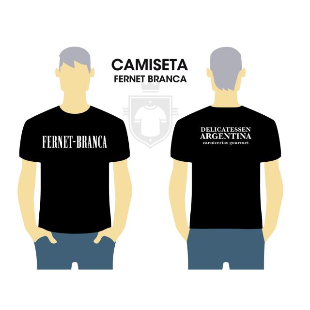 Camiseta Fernet Branca Delicatessen Argentina
