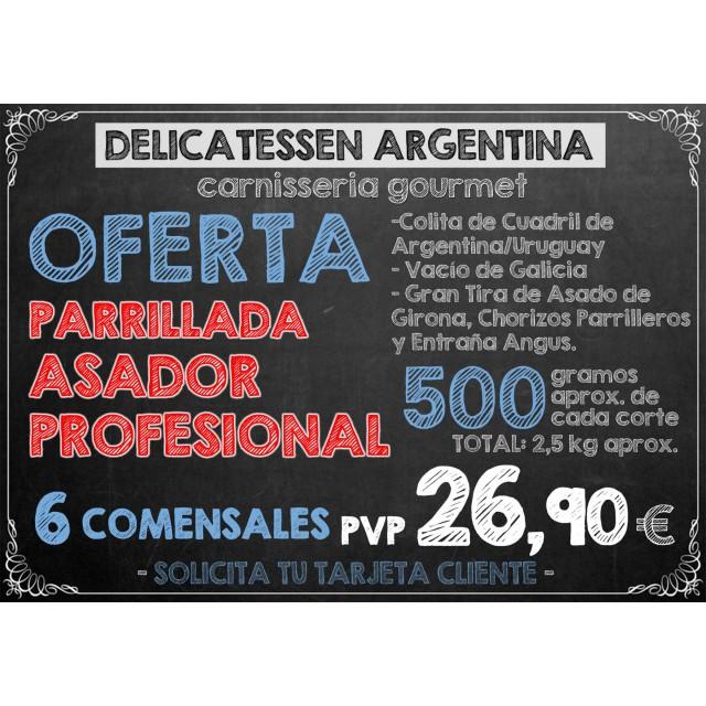 Parrillada Argentina Asador Profesional
