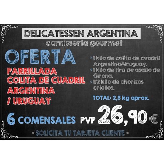 Parrillada Colita de Cuadril de Argentina