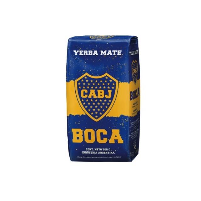 Cachamate Boca Juniors Yerba Mate Argentina 500 Gramos