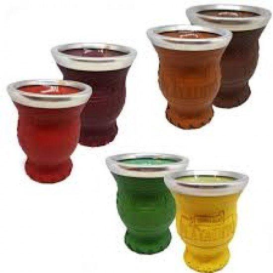 Mate Playadito Cristal Disponible en Varios Colores