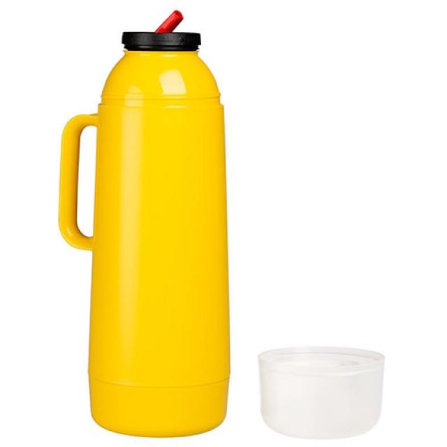 Termo para mate TERMOLAR Brasilero Amarillo 1 Litro