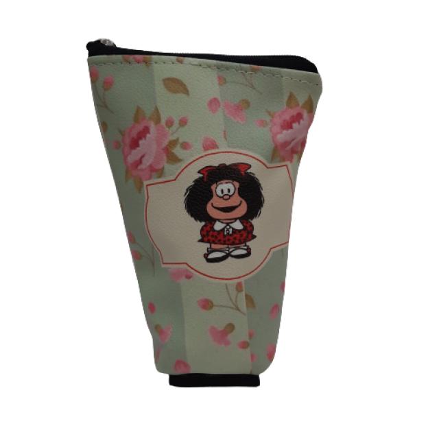 Yerbera de EcoCuero con Cierre e Interior Plástico Aislado Motivo Mafalda 2