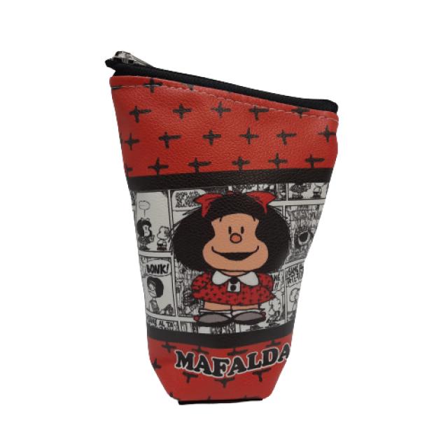 Yerbera de EcoCuero con Cierre e Interior Plástico Aislado Motivo Mafalda 3