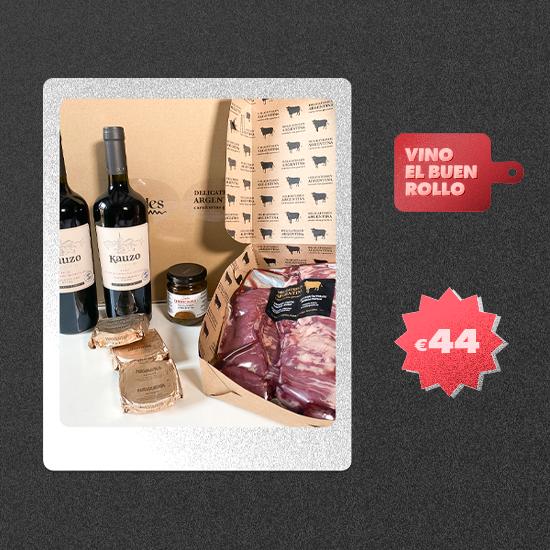 Pack Maridaje Entrañas por Delicatessen Argentina 3 Personas