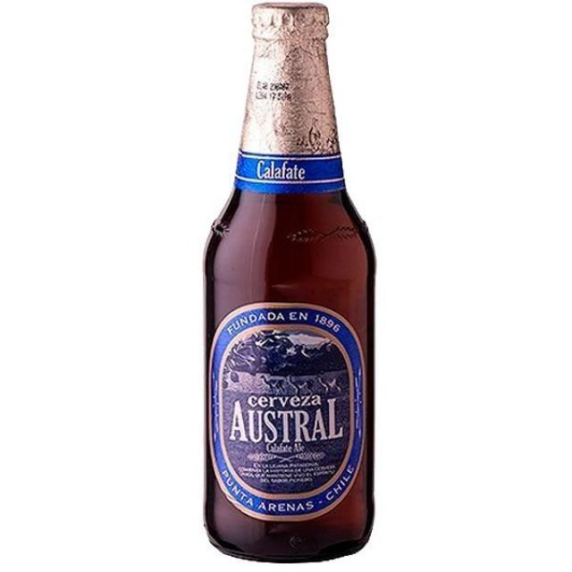 Austral cerveza chilena producida en Punta Arenas