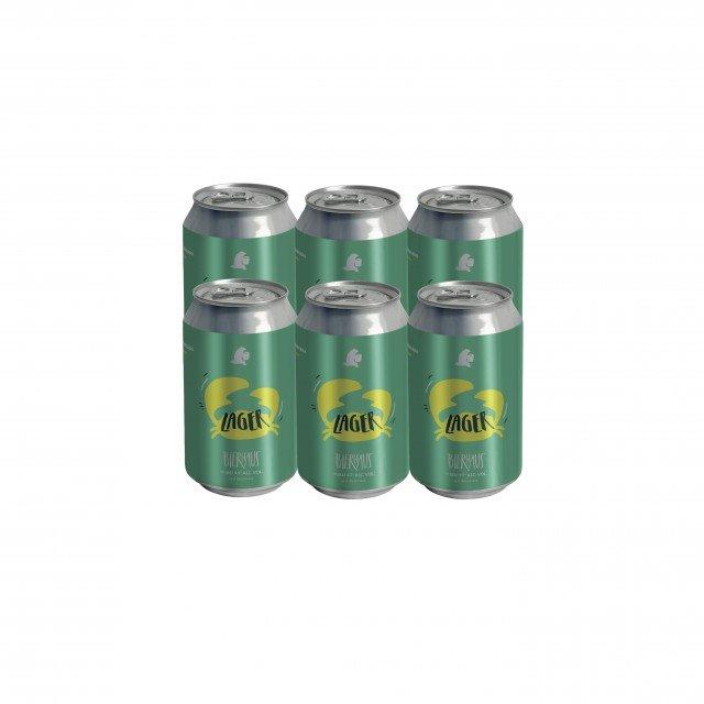 SixPack Cerveza Bierhaus Lager Pinche Receta Argentina