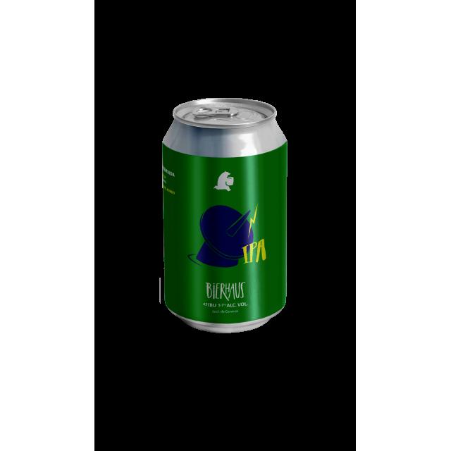 Lata Cerveza Bierhaus IPA SuperStar Receta Argentina