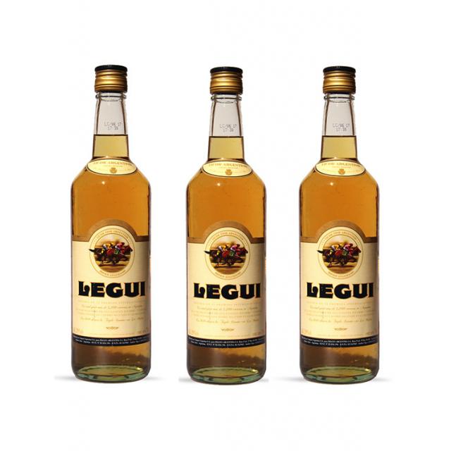 Licor de Caña Legui Argentino Oferta Pack 3 Botellas