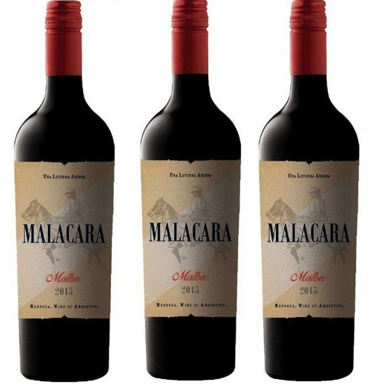 Malacara Malbec Argentina Oferta Pack 3 botellas