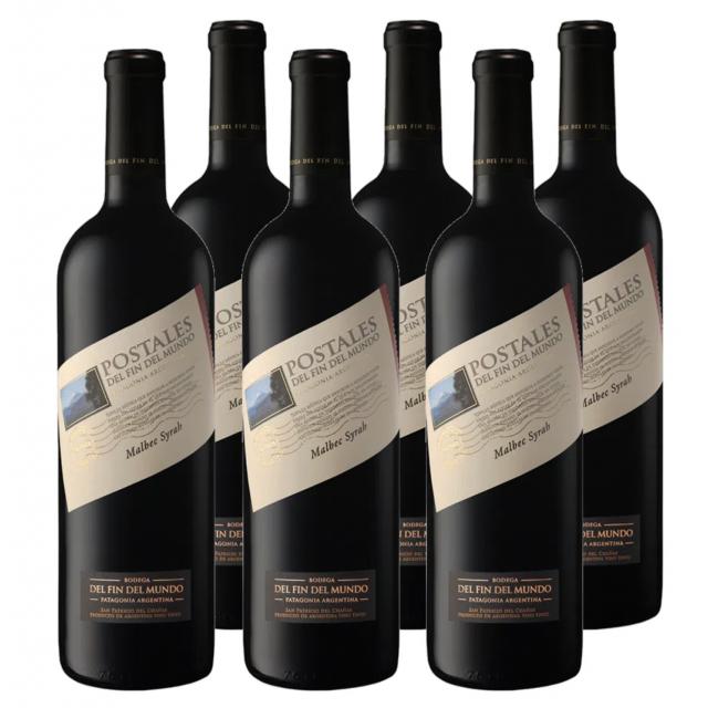 Postales del Fin del Mundo Cabernet Sauvignon Malbec Oferta Caja 6 Botellas