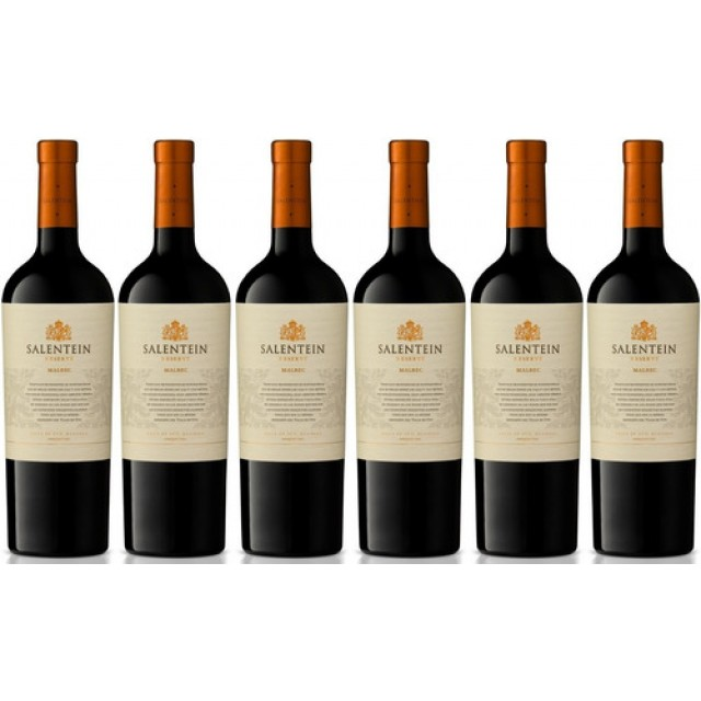 Salentein Malbec Argentino Caja 6 Botellas