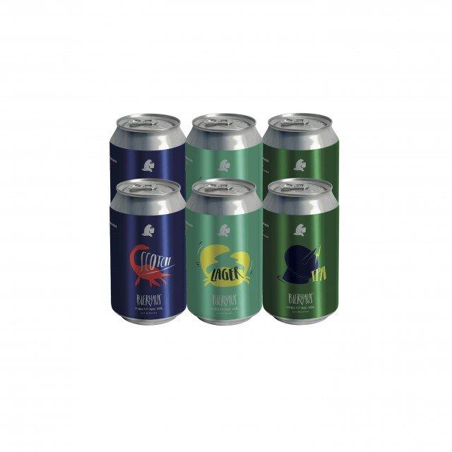 SixPack Mixto de 3 Combinaciones Cerveza Bierhaus Receta Argentina