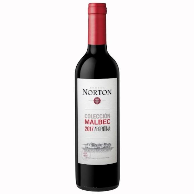 Vino Norton Colección Malbec Argentina