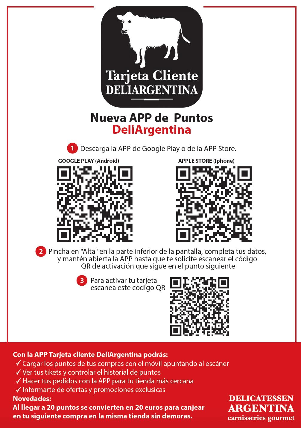 APP Tarjeta Cliente Deliargentina